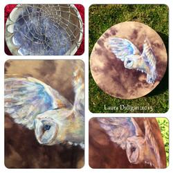 Barn Owl Spirit Drum