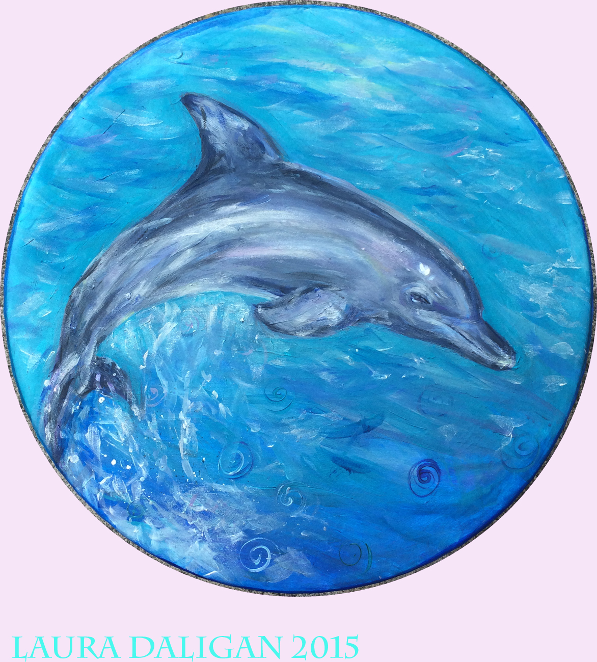 Julie Ann's Dolphin Drum Commission