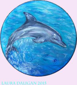 Julie Ann's Dolphin Drum Commission