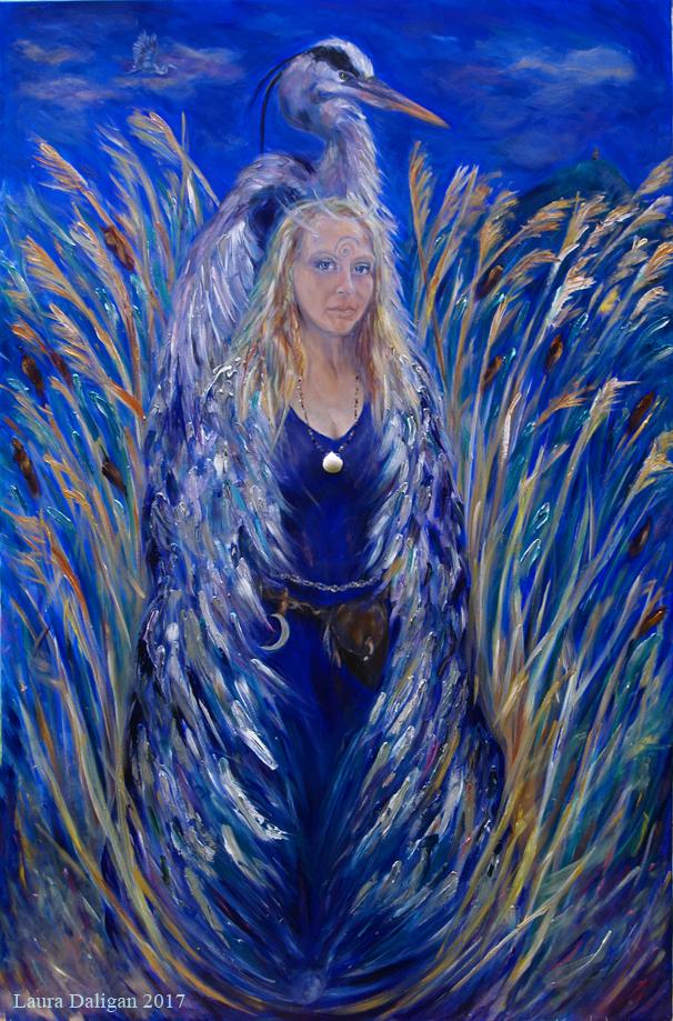 Heron Woman
