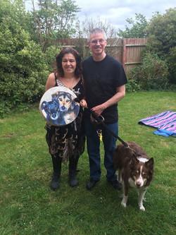 Yvonne, Tony & Ruby & Doggy Drum