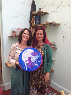 Janet and Her Faerie Drum - & Me :)