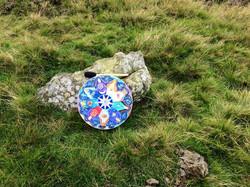 Ros's 9 Ladies Mandala on Exmoor