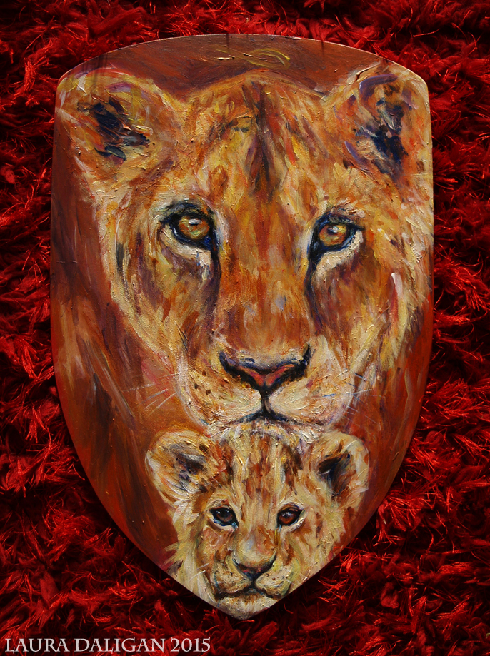 Lioness & Cub Commission