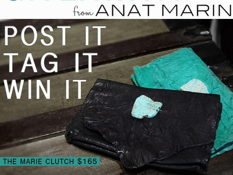Giveaway from anat marin