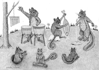 The NUTZ playing The Squirrel From Ipanema