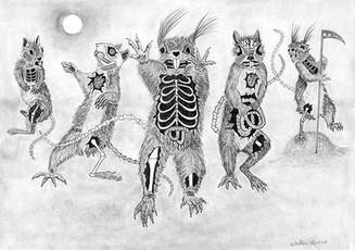 Zombie Squirrel Squad