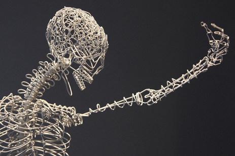 Zen Bones aka Air Guitar (Detail)