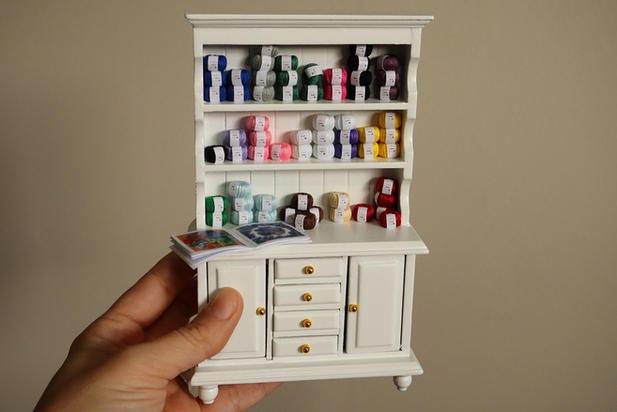 Yarn Shop Shelf