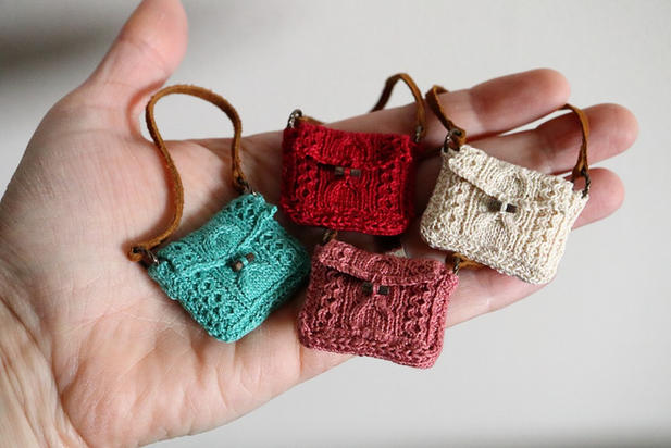 Cable Knit Bag