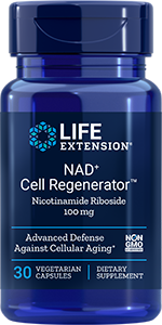 NAD+ Cell Regenerator  | 100 mg, 30 capsules