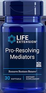 Support Tissue Rejuvenation: Pro-Resolving Mediators