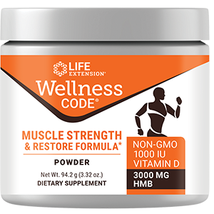 Wellness Code Muscle Strength and Restore Formula (94.2 g)
