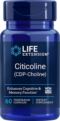 Cognizin CDP-Choline Caps,  250 mg, 60 caps