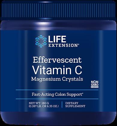 Effervescent Vitamin C Magnesium Crystals, 6.35 oz (180 g)