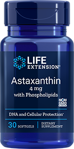 Astaxanthin with Phospholipids  |  4 mg , 30 softgels