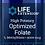 Thumbnail: High Potency Optimized Folate  |  5000 mcg, 30 tabs