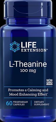 L-Theanine, 100 mg, 60 caps
