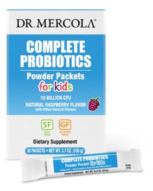 Complete Probiotics for Kids: 10 Billion CFU