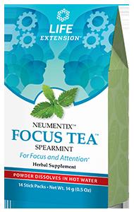 FOCUS TEA, 14 stick packs (14 g)