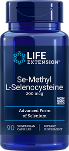 Se-Methyl L-Selenocysteine | 200 mcg, 90 caps