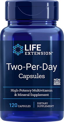 Two-Per-Day High Potency Multivitamin