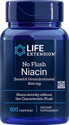 No Flush Niacin, 800 mg, 100 caps