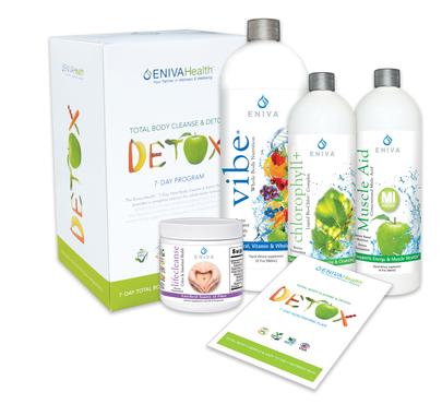 Detox kits: 7-Day Full Body Detox & Cleanse