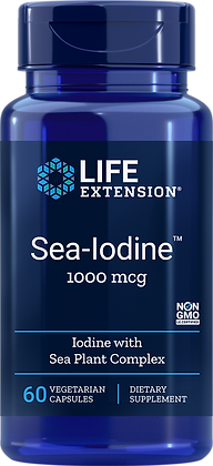 Sea-Iodine, 1000 mcg, 60 caps