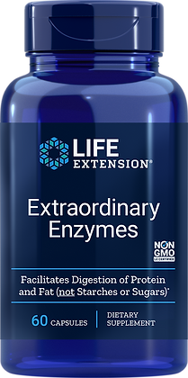 Extraordinary Enzymes, 60 caps