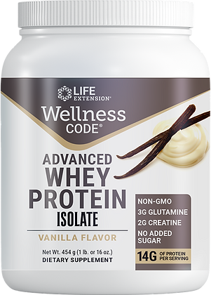 Wellness Code Advanced Whey Protein Isolate
