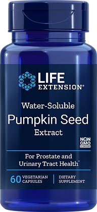 Water-Soluble Pumpkin Seed Extract, 60 veg caps