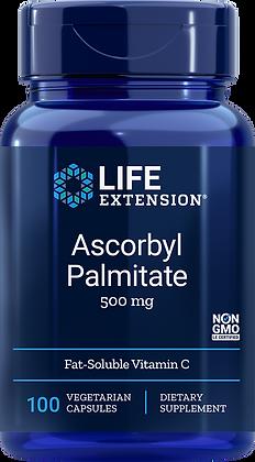 Ascorbyl Palmitate,  500 mg, 100 veg caps