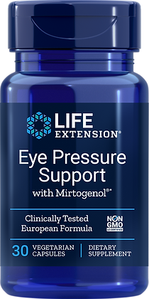 Eye Pressure Support with Mirtogenol,  30 veg caps