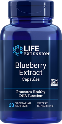 Blueberry Extract: Antioxidant & Memory Health!