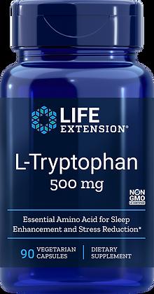 L-Tryptophan,  500 mg,  90 caps