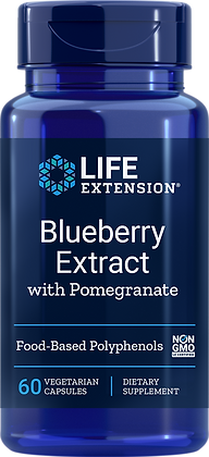 Blueberry Extract with Pomegranate, 60 veg caps