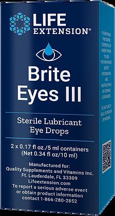 Brite Eyes III,  2 vials,  0.17 oz each