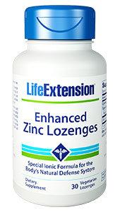 Enhanced Zinc Lozenges, 30 veg lozenges