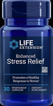Enhanced Stress Relief, 30 veg caps