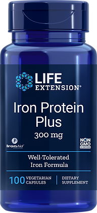 Iron Protein Plus, 300 mg, 100 caps