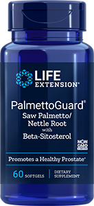 PalmettoGuard Saw Palmetto/Nettle Formula with Beta-Sitosterol