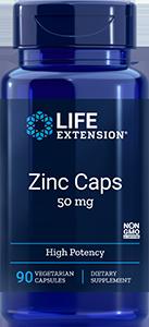 Zinc Caps  |  50 mg, 90 caps