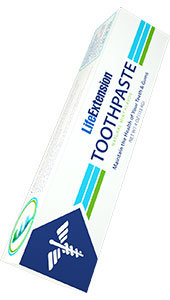 Life Extension Toothpaste, 4 oz
