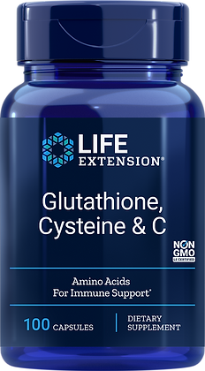 Glutathione, Cysteine & C,  100 veg caps