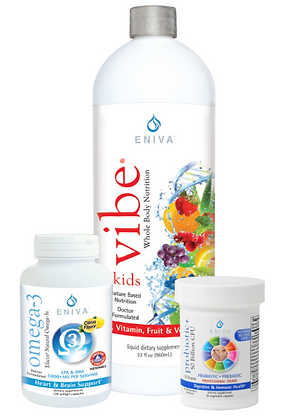 Kid's Health Pack: Multi + Omega 3s + Probiotics