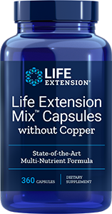 Life Extension Mix™ Capsules without Copper