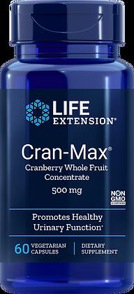 Cran-Max, 500 mg, 60 veg caps