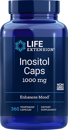 Inositol Caps, 1000 mg, 360 capsules