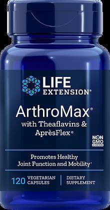 ArthroMax with Theaflavins & Apr'sFlex, 120 veg caps